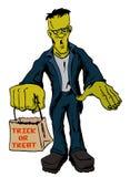Halloween Frankenstein Monster Stock Photos