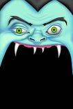 Halloween Monster. Illustration of screaming monster for Halloween message Royalty Free Stock Image