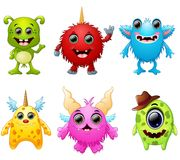 Halloween monster set collection Royalty Free Stock Photography