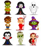 Halloween Monster Royalty Free Stock Photos