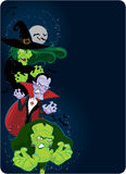 Halloween monsters Stock Photography