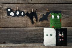 Halloween monsters Royalty Free Stock Images