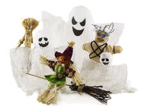 Halloween monsters isolated on white Stock Image