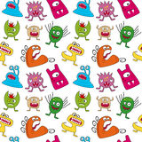 Halloween Monsters Seamless Royalty Free Stock Photography