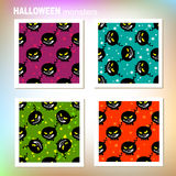 Halloween monsters set Royalty Free Stock Image