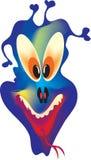 Halloween monstr, vector Royalty-vrije Stock Afbeeldingen