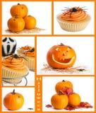 halloween montage Royaltyfri Bild