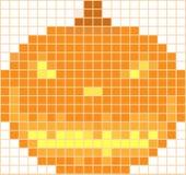 Halloween-Mosaik Lizenzfreies Stockfoto