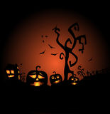 Halloween, the most terrible and terrifying celebration Stock Images