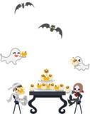 Halloween muffindeltagare!! Royaltyfri Bild