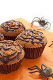 Halloween muffins Royalty Free Stock Image