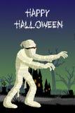 Halloween Mummy Stock Photo