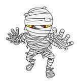 Halloween Mummy comic Royalty Free Stock Image