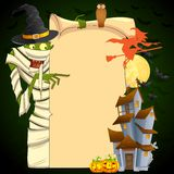 Halloween Mummy Stock Photography