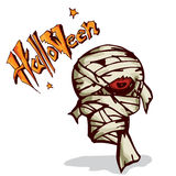 Halloween mummy zombie Royalty Free Stock Images