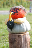 Halloween-Musiker Lizenzfreie Stockbilder