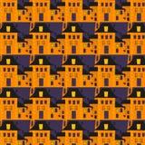 Halloween-Muster Stockbilder