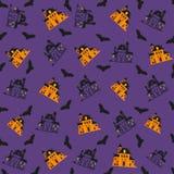 Halloween-Muster Stockfotos