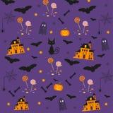 Halloween-Muster Lizenzfreie Stockfotografie