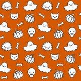 Halloween-Muster 1 Lizenzfreie Stockfotos