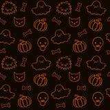 Halloween-Muster 2 Stockfotografie