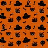 Halloween-Muster 4 Stockbilder