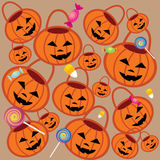Halloween-Muster zwei Lizenzfreies Stockbild