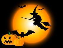 Halloween-Nacht Lizenzfreie Stockbilder