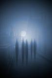 Halloween-Nacht Lizenzfreies Stockfoto