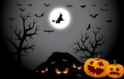 Halloween-Nacht stock illustratie