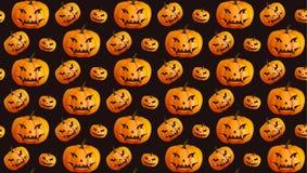 Halloween-nahtloser Musterhintergrund Lizenzfreies Stockfoto