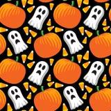 Halloween-nahtloses Muster Stockbild