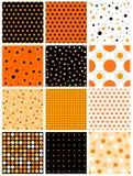Halloween-nahtloses Muster stock abbildung