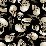Halloween nahtloses pattern3 Lizenzfreies Stockfoto
