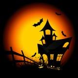 halloween natt vektor illustrationer