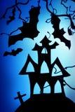 halloween natt royaltyfri fotografi