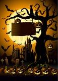 Halloween natt Royaltyfri Foto