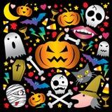 Halloween nett stock abbildung