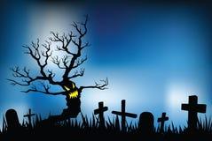 Halloween night stock illustration
