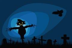 Halloween night Royalty Free Stock Photo