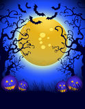 Halloween at night Royalty Free Stock Photo