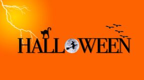 Halloween night. Stock Image