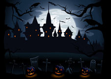 Halloween night Stock Photography