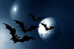 Halloween. Night Stock Photography