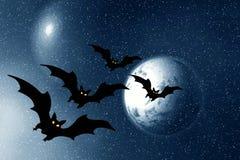 Halloween. Night Royalty Free Stock Image