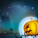 Halloween night backgroun. Stock Photography