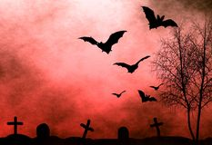 Halloween night background. Perfect background for halloween concept Stock Images