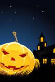 Halloween night background Royalty Free Stock Photos
