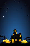 Halloween night background Stock Photo
