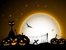 Halloween night background Royalty Free Stock Images
